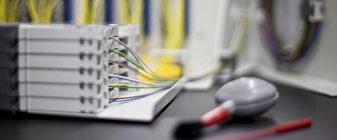 installation réseau fibre optique